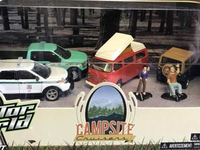 Greenlight Limited Edition Campsite Cruisers 4 vehicles