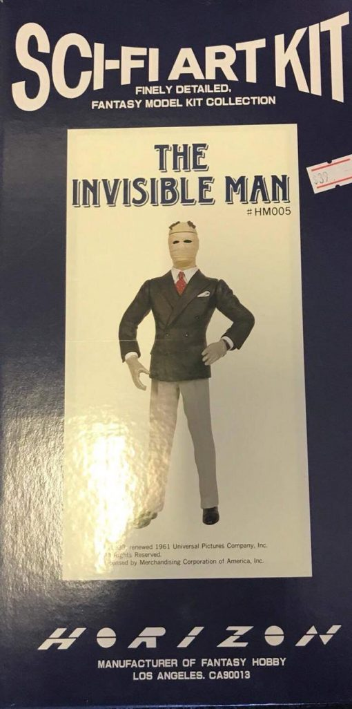 Horizon Sci-Fi Art Kit The Invisible Man